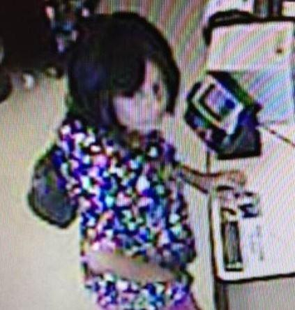 Deputies are searching for this woman accused of stealing a person's wallet and spending thousands of dollars on Sept. 20.