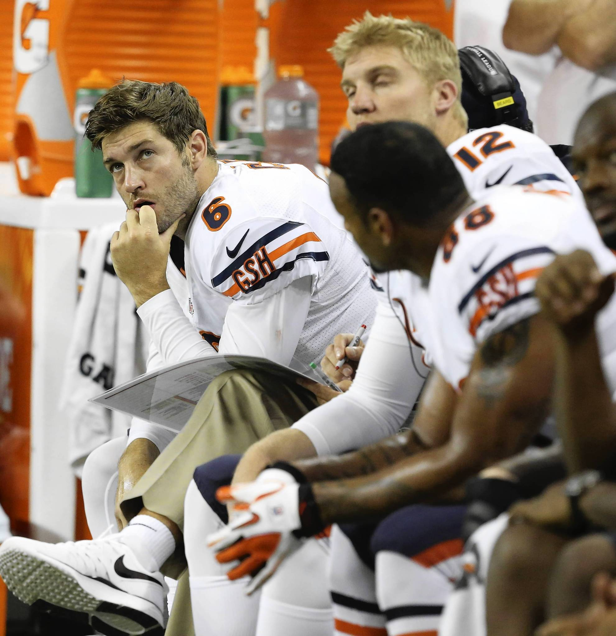 Mistakes pile up in Bears' 1st loss
