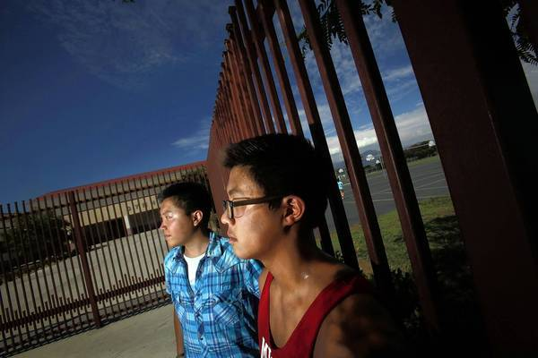 Alex Wong, left, and Andre Liu have hit hurdles in their efforts to enroll in advanced placement classes this year.