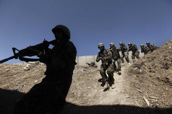 U.S. special ops training of Afghan security forces