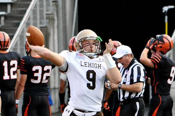 Lehigh freshman and former Whitehall High football player Nick Shafnisky.