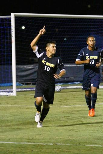 Enrique Cardenas has produced five goals and three assists to lead UC Irvine.