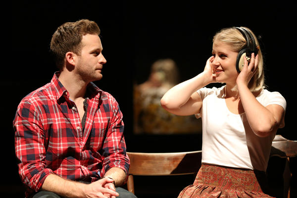 "Stuart Ward is Guy and Dani De Waal is Girl in the touring production of ""Once,"" now at the Oriental Theatre in Chicago's Loop."