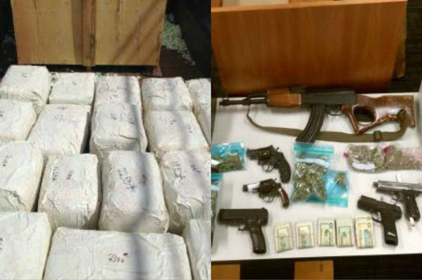 """A """"violent Jamaican drug-trafficking ring"""" that brought thousands of pounds of marijuana into Central Florida has been dismantled with the arrests of its ringleaders and associates, law enforcement officials said today."""