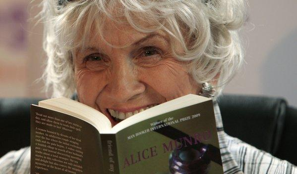 Alice Munro, winner of the 2013 Nobel Literature Prize.