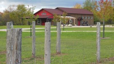 The new Crooked Vine Vineyard & Winery is located along Lakeview Road southeast of Alanson.