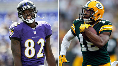 Who's picking the Ravens to beat the Green Bay Packers?