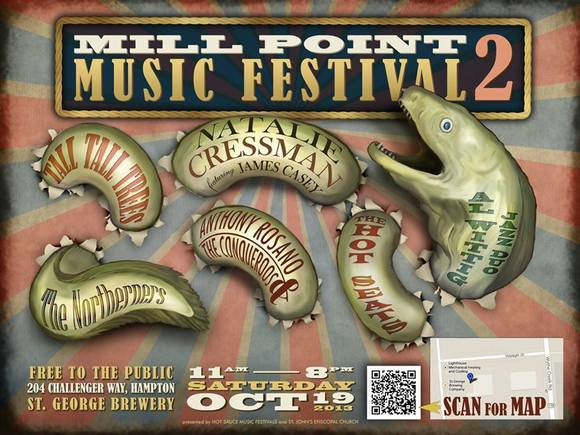 The Mill Point Music Festival 2 won't take place at Mill Point.