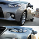 Comparing the 2014 Toyota Corolla and Mazda3