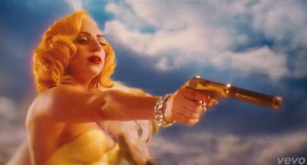 "Lady Gaga released a video for her song ""Aura,"" from her upcoming album ""Artpop."""