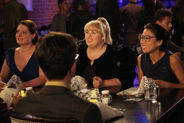 "Lauren Ash, Rebel Wilson and Liza Lapira in ""Super Fun Night."""