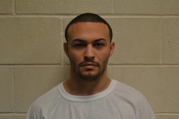Kyle Nunez-Moccio, 22, was charged last week with five counts of illegal sexual contact with a minor, police said.