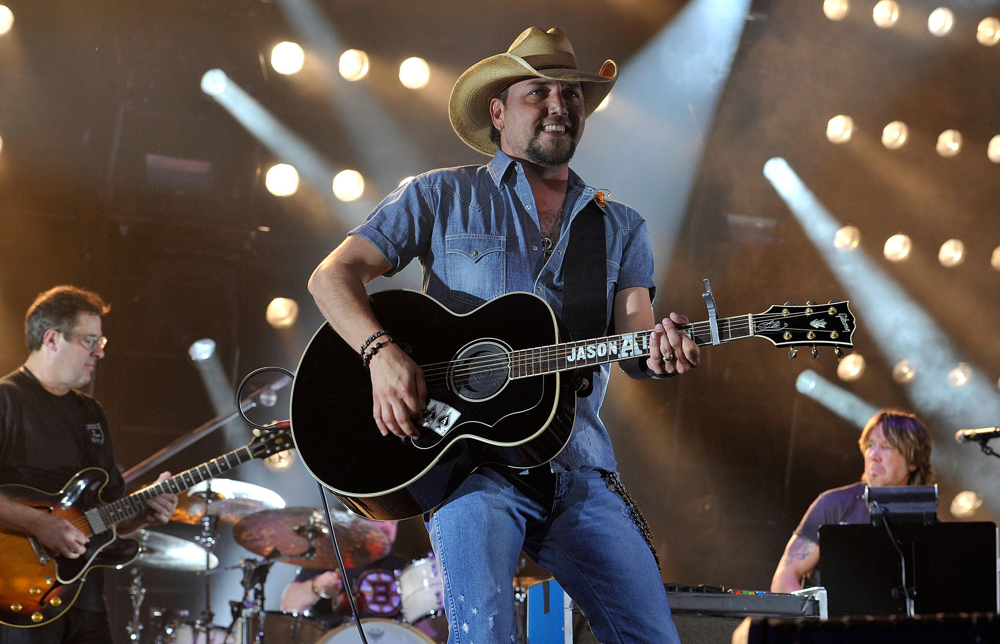 Jason Aldean, performing in Nashville in April, is among the headliners for the Stagecoach Country Music Festival in Indio.