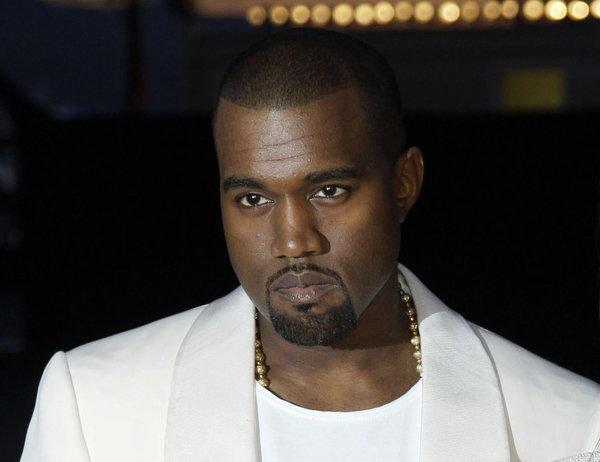 Kanye West in 2012.