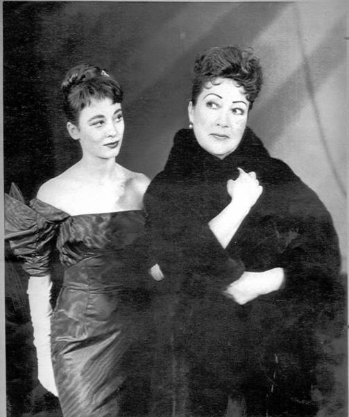 """""""Gypsy,"""" with Sandra Church, left, and Ethel Merman (1959), was written by Stephen Sondheim. His work is noted in """"Anything Goes."""""""