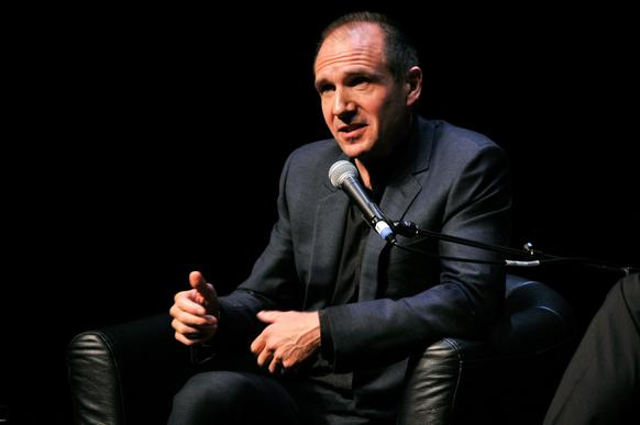 Director-actor Ralph Fiennes speaks onstage at the Gala Tribute to Ralph Fiennes during the 51st New York Film Festival.