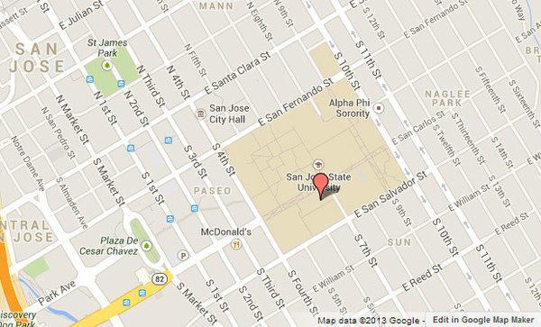 San Jose State University Campus Map 39525 Movieweb