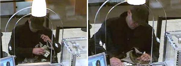 A man being sought by the FBI in connection with a Chase bank branch robbery Thursday in Hollywood.