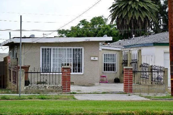 A single-family home at 12125 S. Vermont Avenue in Los Angeles lists for $264,500. The home is 1,038 square feet and has three bedrooms and two baths.