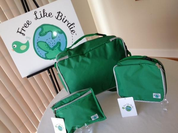 The entire set costs $85 on www.freelikebirdie.com. Each bag is also sold individually.