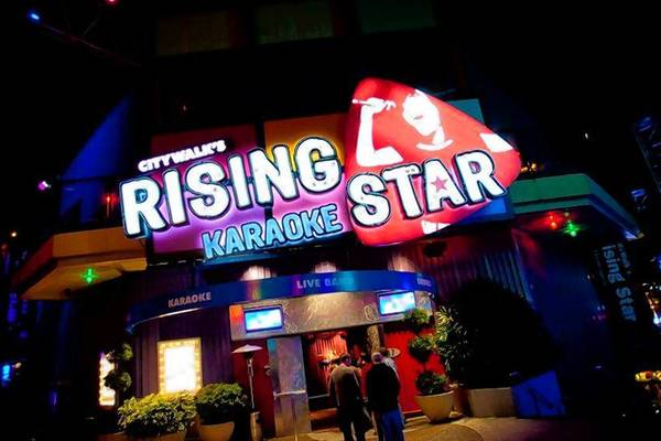 Looking to follow up those screams with songs? Hit up CityWalk's Rising Star.