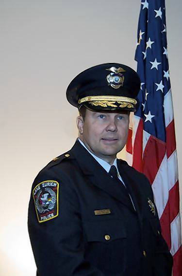 Lake Zurich police Chief Pat Finlon announced plans to retire next month.
