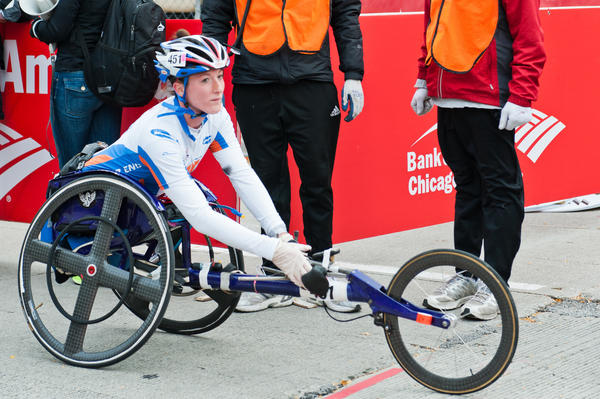 Wheelchair marathoner Tatyana McFadden is going for her third straight Chicago Marathon victory this weekend.