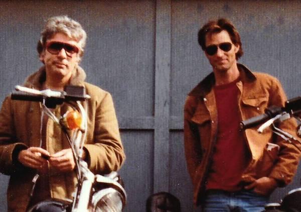 "Johnny Dark, left, and Sam Shepard in ""Shepard & Dark."""