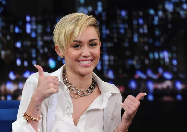 "Only old people wear pants: Miley Cyrus on ""Late Night With Jimmy Fallon."""