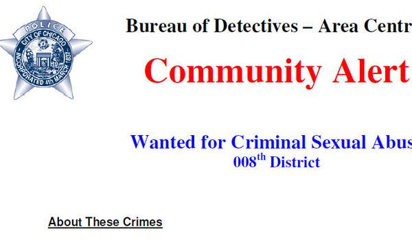 Police community alert