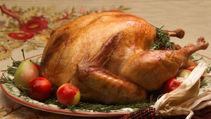 Roasted turkey, no stuffing