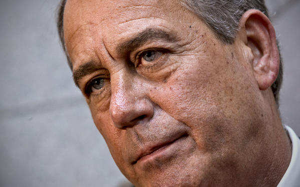 On Thursday, House Speaker John A. Boehner (R-Ohio) and other top House Republicans called for a temporary increase in the government's borrowing authority, which would prevent the Treasury from running out of cash in about a week.