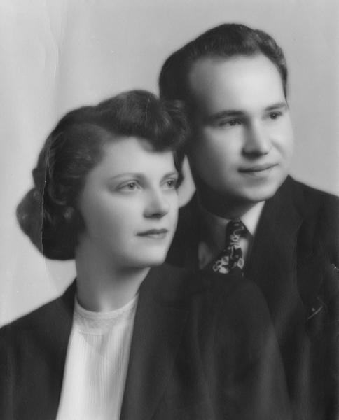 Newlyweds Richard and Ruth Radwanski came to Glendale in 1947, hoping to break into the music entertainment business. (Courtesy of Ruth Charles)