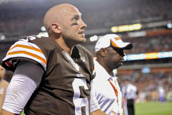 The Browns began a three game winning streak when they started Brian Hoyer in place of Brandon Weeden, but with Hoyer out for the rest of the season Cleveland's fate is back in Weeden's hands.