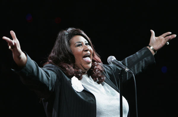 The Queen of Soul has played the Hampton Coliseum for the Hampton Jazz Festival.