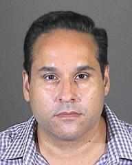 """Alejandro """"Alex"""" Martinez, 44, a former West Hollywood real estate executive wanted for suspected fraud, was arrested and charged after he was seen on a YouTube video promoting a restaurant he owned in Mexico, authorities said Thursday night."""