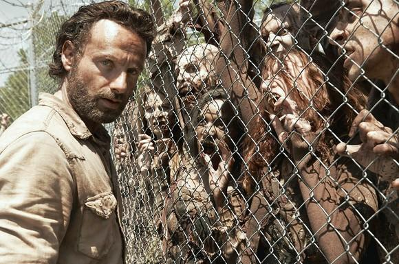 "Andrew Lincoln's character steps back this season in ""The Walking Dead"""