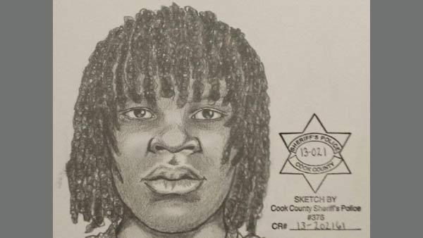 This is a sketch of a man wanted in connection with sexual assaults in the Morgan Park neighborhood.