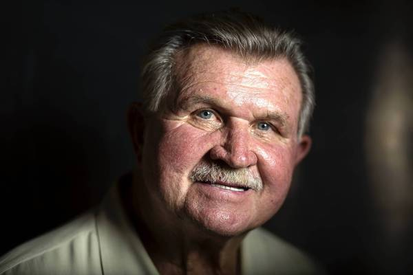 Mike Ditka, 73, a player on the 1963 Bears NFL Championship team, at Mike Ditka's Restaurant in Chicago. After nine years as an assistant coach for the Cowboys, Ditka became head coach for the Bears in 1982. He led them to their only Super Bowl victory in 1986 and twice was voted NFL coach of the year.