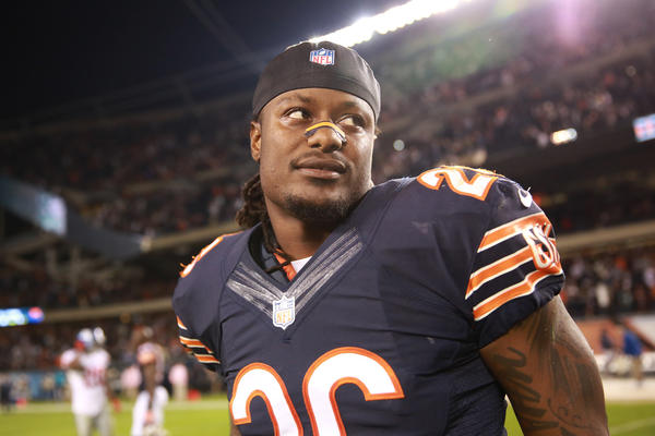 Tim Jennings after the Bears win Thursday night.
