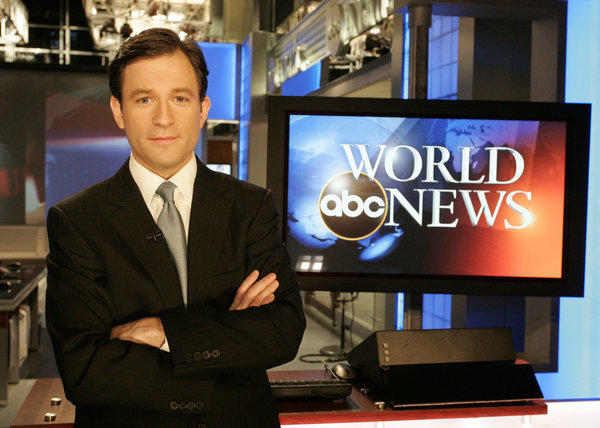 "ABC News anchor Dan Harris, who is replacing Bill Weir as a co-anchor of ""Nightline."""