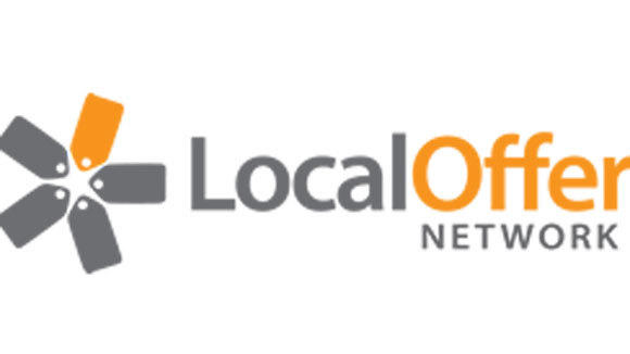 The logo for Local Offer Network, a technology company that aggregates and syndicates consumer deals.