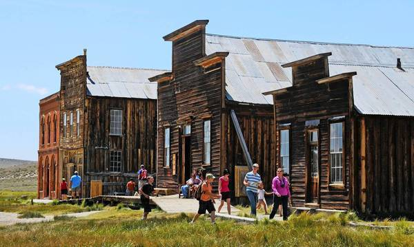 Travelers who find the gates to Yosemite National Park closed are being urged to visit nearby sites, including Bodie State Historic Park.