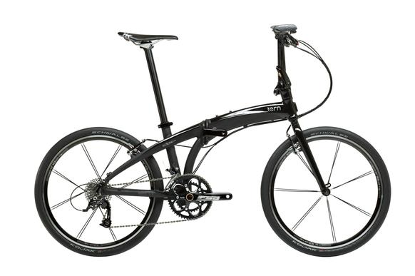 The Tern Eclipse X20 was noted for its 24-inch wheels, which offer a better ride and handling at slower speeds.