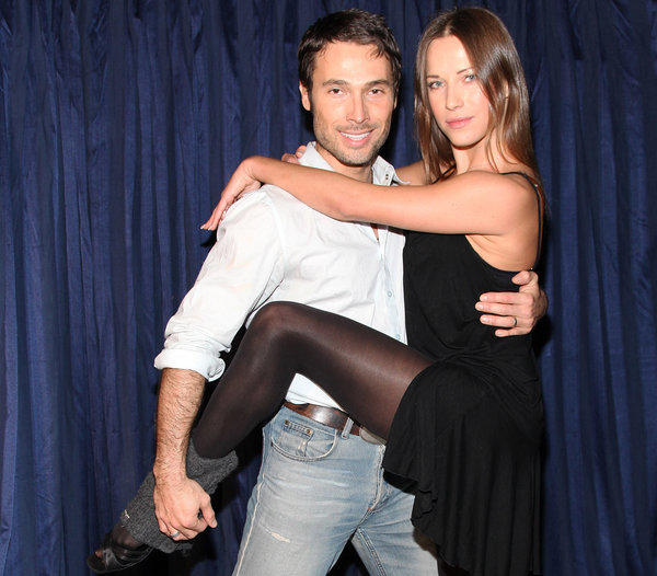 """Edyta Sliwinska and Alec Mazo, both formerly of """"Dancing With the Stars,"""" are expecting their first child in January."""