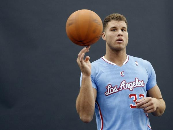 Blake Griffin says his sore knee is fine.