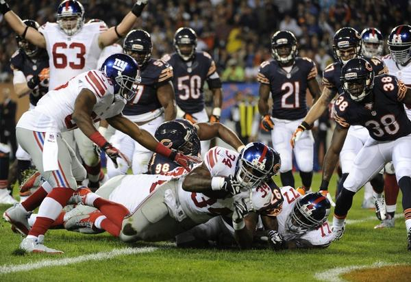Thursday's Bears-Giants game was watched by 7.8 million viewers on the NFL Network.