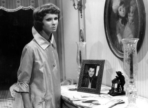 Edith Scob as Christiane Genessier in a scene from ?Eyes Without A Face,? now available on DVD and Blu-ray.