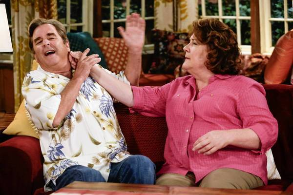 "The new CBS sitcom ""The Millers"" stars Beau Bridges and Margo Martindale as a long-married couple who've recently split."
