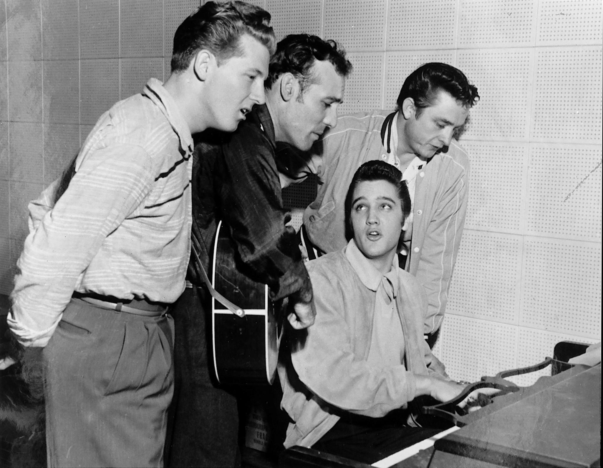 Jerry Lee Lewis, Carl Perkins, Elvis Presley, Johnny Cash – all were discovered by Sam Phillips of Sun Records in Memphis. (Handout)